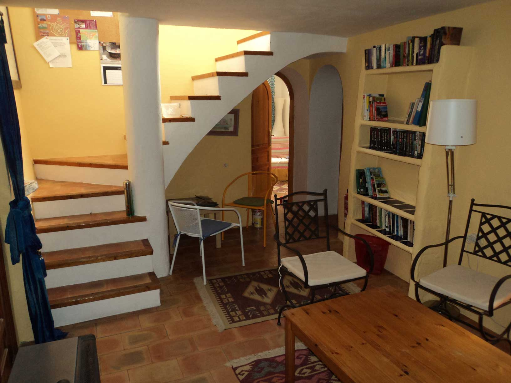 Roc-House-downstairs-with-stairs-and-round-doors