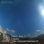 Casaroc webcam 1st Feb 2019