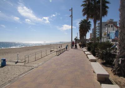 La Vila Joiosa, Playa Central