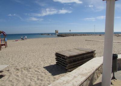 Playa Central Villajoiosa