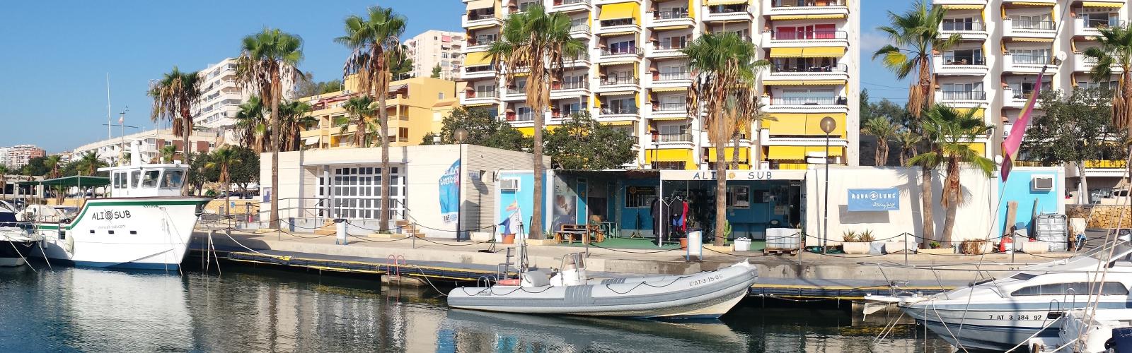 Ali-sub diving centre in Villajoiosa